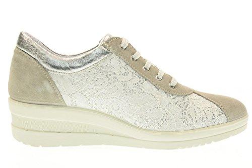 Baskets Chaussures Femme Enval Soft Avec Cale 79595/00 Gris Gris