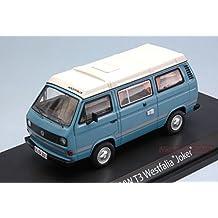 "SCHUCO SH3476 VW T3 WESTFALIA ""JOKER"" LIGHT BLUE/CREAM 1:43 MODELLINO DIE CAST"