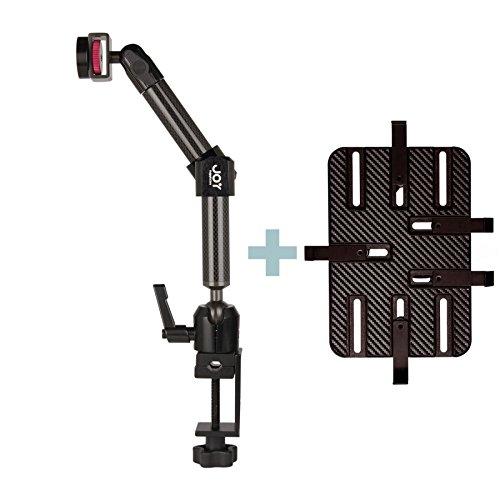 """Preisvergleich Produktbild 'The Joy Factory-Halterung Doppelarm kurze Schraubstock-Universal Tablets 7,5""""-12-Breite Max 1"""""""