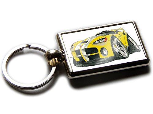 dodge-viper-koolart-porte-cles-chromee-de-qualite-officielle-nouvelle-forme-voiture-de-sport-sur-les
