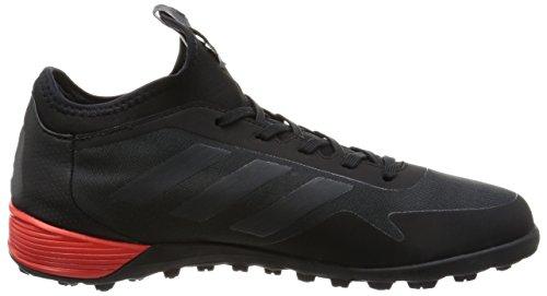 adidas Ace Tango 17.2 Tf, Scarpe da Calcio Uomo Nero (Core Black / Dark Grey / Red)