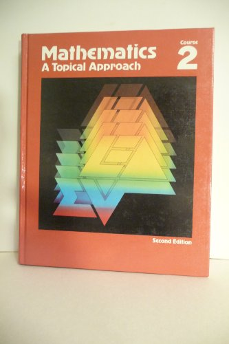 Mathematics a Topical Approach