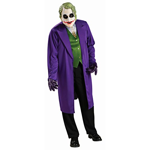 The Joker Kostüm Batman Schurke Herrenkostüm XL 56/58 Bösewicht Batmankostüm The Dark Knight Lizenz Filmkostüm Monster Halloweenkostüm Comic Held Faschingskostüm Karneval Kostüme Herren (Batman Dark Knight Der Joker Kostüme)