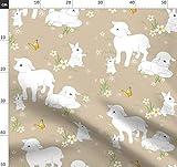 Kaninchen, Hase, Frühling, Ostern, Lamm, Schaf, Stoffe -