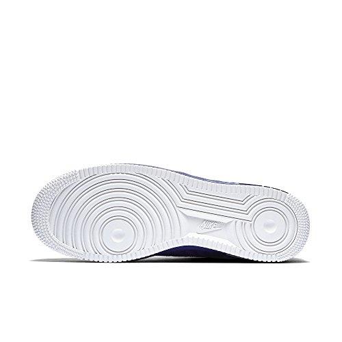Nike Air Force 1 '07 Lv8, Chaussures de Sport Homme, Weiß, Eu Orange - Naranja (Naranja (Concord/Concord-Smmt Wht-Chrm))