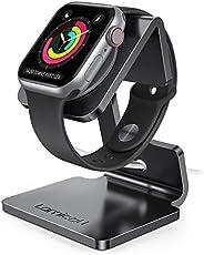 Lamicall Standaard voor Apple Watch - Laadstation Houder Compatibel met iWatch Series 5 4 3 2 1 - Zwart