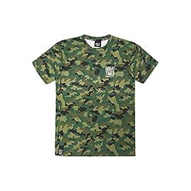 YuanDian Uomo Allaperto Esercito Camo Tattico Maglietta T Shirt Militare Maniche Corte Asciugatura Veloce Camuffare Camicia Top