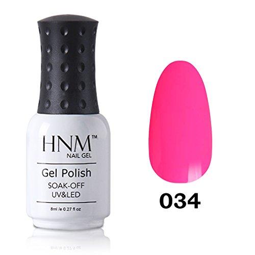 HNM Vernis à Ongles Semi Permanent Manucure Nail Art Pafait pour Vos Ongles UV LED Soak off 8ml-16