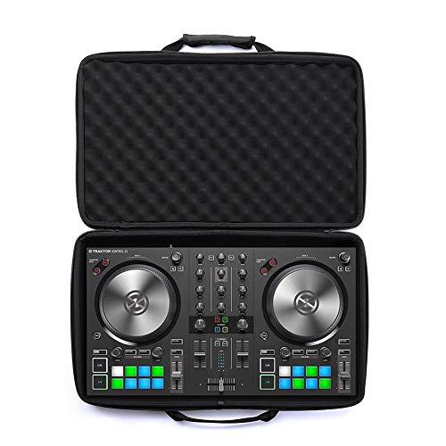 aheadad Hartschalenkoffer für Pioneer DJ DDJ-SB3 / DDJ-SB2 DJ/DDJ-400 Spezieller DJ-Koffer Tragbarer wasserdichter Eva-Tragekoffer-Controller Paket Hartschalenkoffer für tragbaren 2-Kanal-Controller
