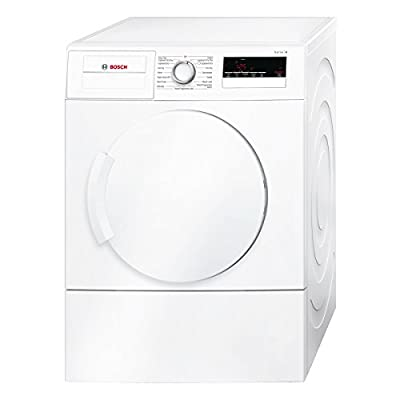 Bosch WTA79200GB 7kg Freestanding Vented Tumble Dryer in White by Bosch
