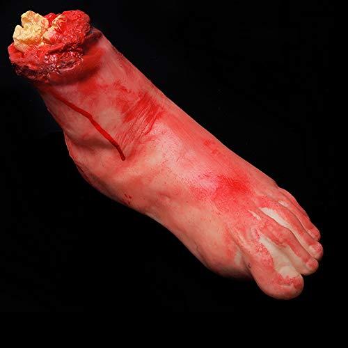 een Horror gebrochene Finger Hand Break Fuß Rep Spukhaus Dekoration, Broken Foot ()