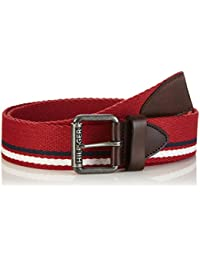 Hilfiger Denim Herren Gürtel Striped Webbing Belt 6