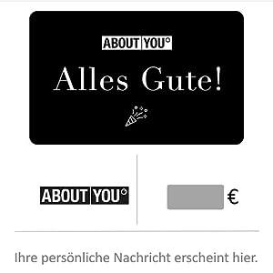About You Digitale Geschenkkarte Alles Gute Fur Deutschland