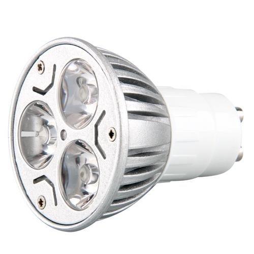 SODIAL(R) GU10 LAMPE AMPOULE BULB A 3 LED BLANC CHAUD d'occasion  Livré partout en Belgique