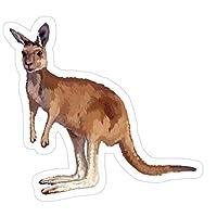 Sticker Vinyl Decal for Cars, Water Bottle, Fridge, Laptop Kangaroo Stickers (3 Pcs/Pack)