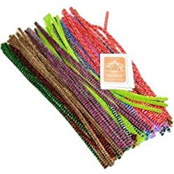 Tiger Tail Pipe Cleaners. Assorted Colours.