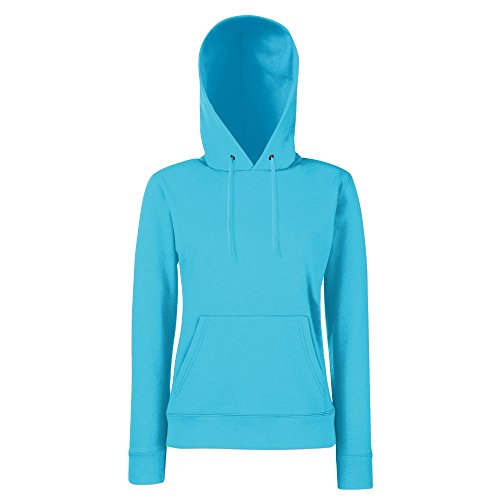 Fruit of the Tower - Lady-Fit Hooded Sweat XL,Azure Blue