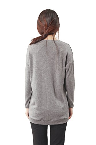 Larandi - Sweat-shirt - Femme X-Small Gris foncé