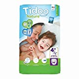Tidoo 503891 - Disposable night y day nappies, size 4+, maxi+ 9-20 kg,unisex