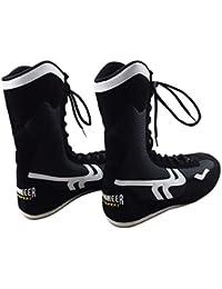 promo code 56e34 0b093 High Top Scarpe da Pugilato Boxe Scarpe Boxer Stivali per Uomo Donne Bambini