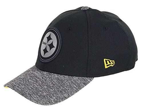 New Era Pittsburgh Steelers - 39thirty Cap - NFL Grey Collection - Black/Grey - S-M (6 3/8-7 1/4)