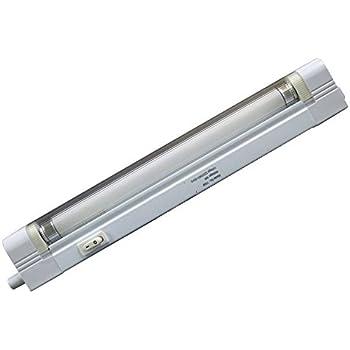 T4 Cabinet-Undershelf Light Fitting 6W CFL Tube Energy Saving  sc 1 st  Amazon UK & Leyton Lighting T4 Ultrasilm low energy fluorescent fitting (276mm ... azcodes.com