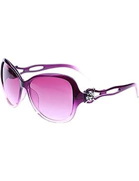 Gafas de sol - TOOGOO(R) nuevas gafas modernas de sol de estilo retro vendimia de ahueca hacia fuera para mujeres...