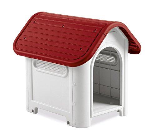 4566 Caseta forma casa perro PROLABZOO toma aire 59.2x66x63