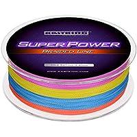 KastKing SuperPower Sedales Trenzados Línea 10LB-150LB, 0.08mm-0.80mm, Dyneema trenzado PE - 300M / 500M / 1000M (Color, 1000M 150LB 0.8mm (8 Strands))