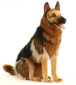 9502 - Hansa Toy - Deutscher Schäferhund sitzend 85 cm