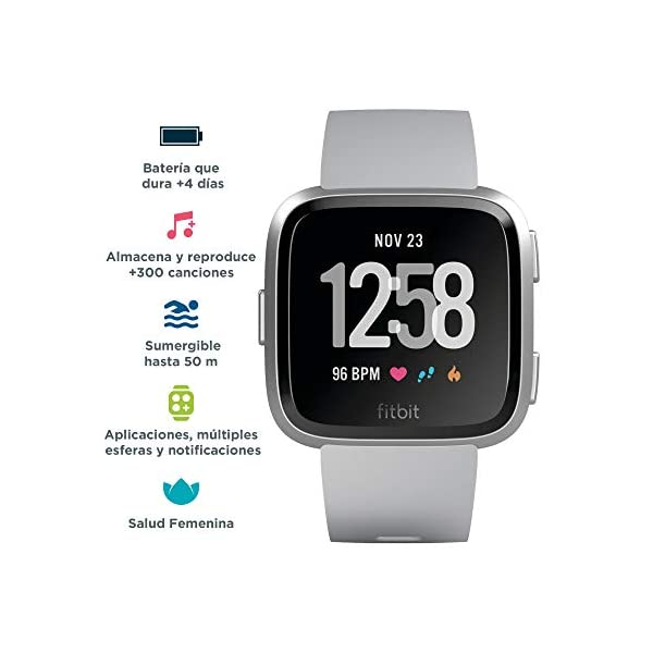 Fitbit Versa Smartwatch Deportivo, Melocotón 4