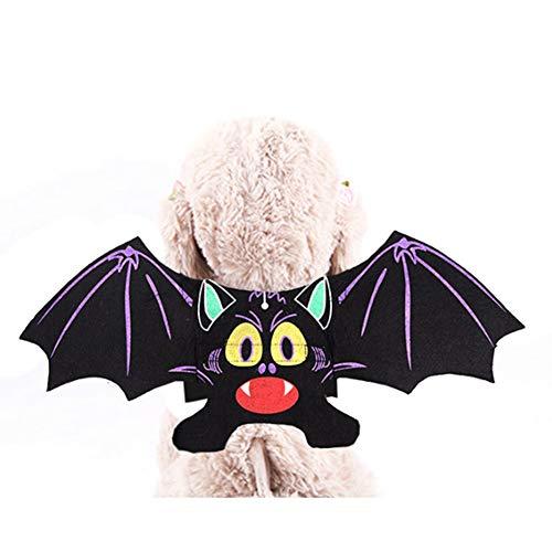 Kostüm Flügel Rahmen - Halloween Haustier Fledermausflügel, Haustier Hund Kostüm Vampir Flügel Kostüm Outfit