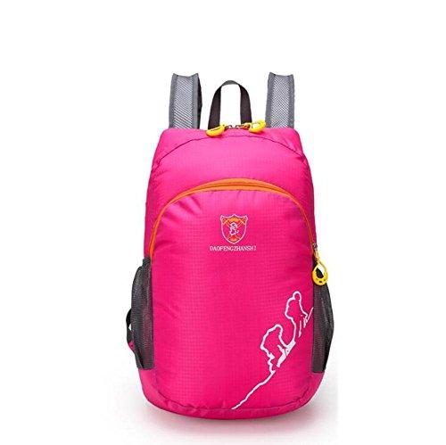 SZH&BEIB Faltbare Rucksack Wasserdichte Nylon Ultra Light für Outdoor Reit Tasche Klettern Wandern Wasser-Beutel B