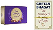 Gits for Him/Her - One Arranged Murder by Chetan Bhagat + Cadbury Celebrations Rich Dry Fruit Chocolate Gift B