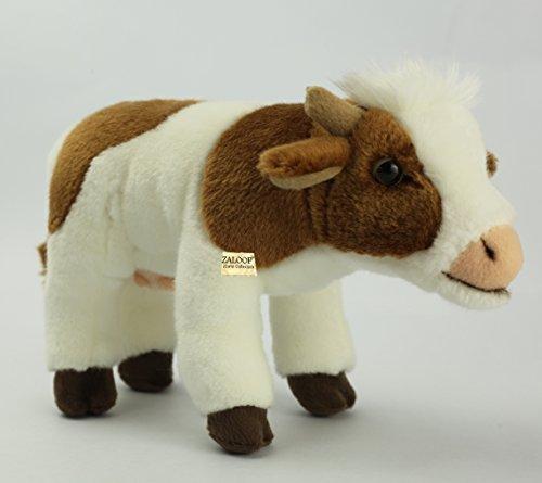 Zaloop Kuh ca.21 cm Plüschtier Kuscheltier Stofftier Plüschkuh 98
