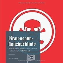 Piratensohn-Notizbuchlinie: Meuterei und das Hinterlassen von Einträgen ausdrücklich erlaubt (Variante: red)