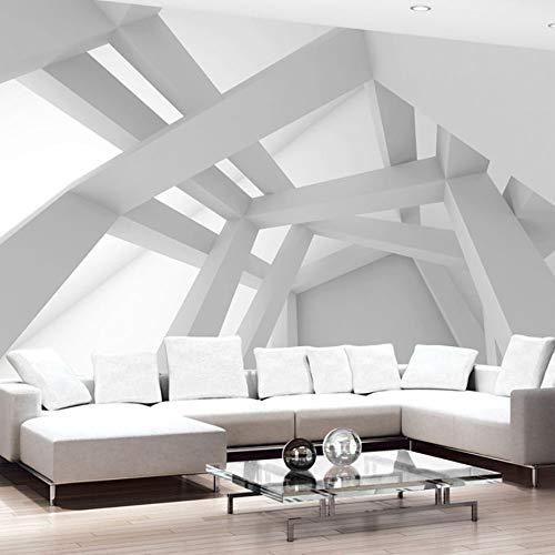 Benutzerdefinierte 3D Tapete Moderne Kunst Abstrakte Geometrische Muster Wandmalerei Wohnzimmer Sofa Tv Hintergrund Wand Papier Wandbild 3D(W)400x(H)280cm - Abstrakte Kunst-muster