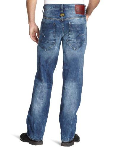 G-STAR RAW Herren Jeans Low New Radar Loose Blau (rugby wash)