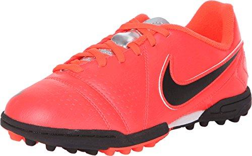 Nike JR CTR360 LIBRETTO III FG LT CRIMSON/BLK-TM RD-PLRZD BL - 3.5Y