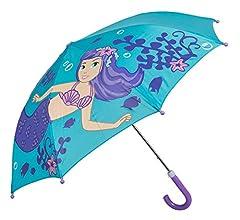 Idea Regalo - Idena 53090 - Ombrello per bambini e bambine, ca. Diametro: 70 cm, motivo: sirena, colore: turchese