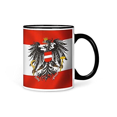 Tasse Kaffeetasse Österreich Fahne 2
