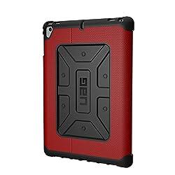 Urban Armour Gear UAG Folio iPad 9.7 (2017 5. Generation & 2018 6. Gen), iPad Pro 9.7, iPad Air 1/Air 2 Metropolis federleicht, robust [Magma] Militär-Testes iPad Case