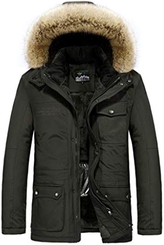 Giacche e cappotti Cappotti Uomo pesante inverno spessore caldo di spessore  inverno faux fur foderato con f57a8287d2e