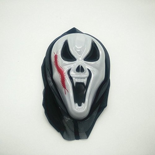 Tradico Halloween Scary Mask Party Props Face Mask Hip-Hop Ghost Dance Skull Mask