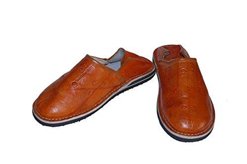 Orientalische Leder Schuhe Braun