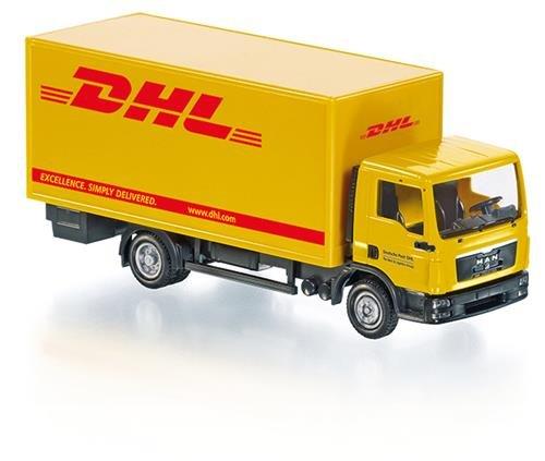 """Wiking 077427 - Koffer-Lkw (MAN TGL) Control87 - \""""DHL\"""" - 1:87"""