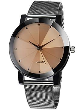 Hunpta Mode Frauen Kristall Analog Quarz Wrist Watch Armband aus Edelstahl