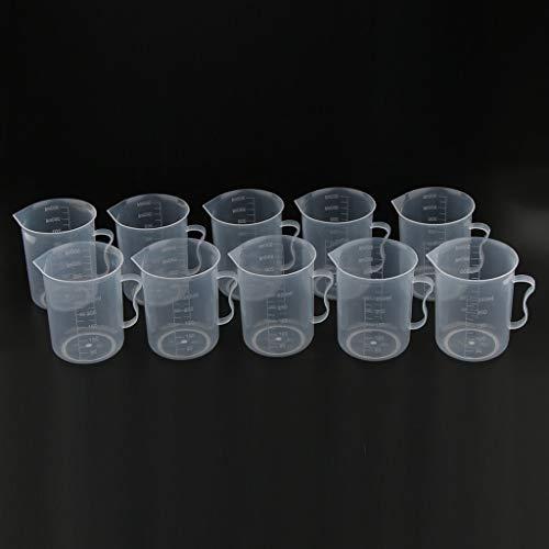 Canopies & Carports - Clear Graduated Beaker Measuring Cup Jug With Handle Grip Metric 250ml 10pcs - Beaker Fabric Garland Beaker Glass Bed Garag Tent Laboratory Aluminum Jug Canopy Jug