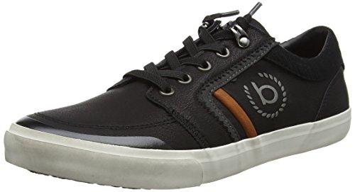 bugatti Herren 322304055900 Sneaker, (Schwarz), 43 EU