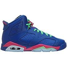 promo code d2a09 fb4e0 Nike Air Jordan 6 Retro GG, Chaussures de Running Entrainement Fille